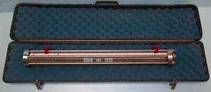 WELKER  ENGR CONSTANT PRESSURE SAMPLE CYLINDER MAX. W.P 3600 PSI, 1000 CC & CASE