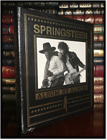 Bruce Springsteen Albums Sealed Easton Press Leather Bound Coffee Table Hardback