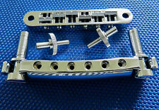 Gibson USA Les Paul Traditional Tune-O-Matic Bridge Tailpiece and Studs Chrome