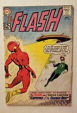 THE FLASH #131 (DC COMICS 1962) VG 4.0 SILVER AGE FLASH & GREEN LANTERN TRAM UP!