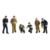 Bachmann Scenecraft 36-403 Factory Workers & Foreman OO Scale 1:76 Painted  RTP