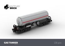 LEGO Modular Custom Build Gas Tanker Train Wagon INSTRUCTIONS ONLY!