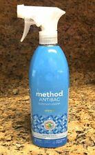 METHOD Antibac Antibacterial Bathroom Cleaner Kills 99.9% Germs Spearmint  28oz