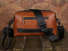 Men's Leather Handbags Briefcase Laptop Shoulder Messenger clutch Bags wallets