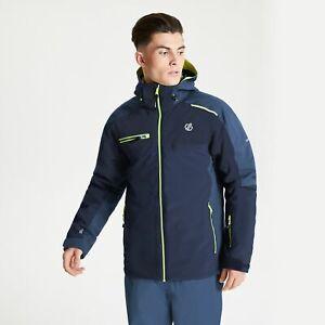 Dare 2B Men's Intermit II Waterproof Insulated Hooded Ski Jacket - Blue Navy