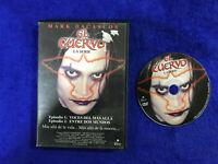 EL CUERVO DVD LA SERIE MARK DACASCOS VOCES DEL MAS ALLA Y ENTRE DOS MUNDOS CROW