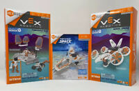 Hex Bug Command Base, Aerial Drone,Space rocket ship Lot Of 3. Age 6+. New!