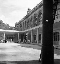 PARIS c. 1946 - Travaux Gare Aéronotique des Invalides - Négatif 6 x 6 - N6 P165