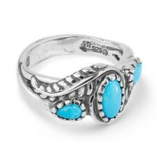Carolyn Pollack Sterling Silver Sleeping Beauty Turquoise Ring