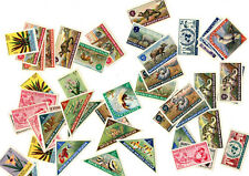 More details for maluku selatan stamps (cinderellas) 1950's / 60's pictorial thematic
