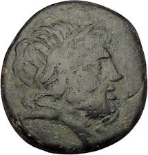 AMISOS PONTUS > 111BC MITHRADATES VI the GREAT Time Zeus Eagle Greek Coin i53189