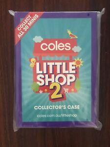 Coles Little Shop 2 Collectors Folder NEW
