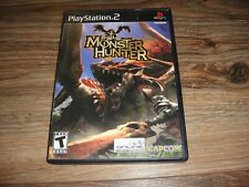 Playstation 2 (PS2) Monster Hunter w/ Manual and Registration Info Card