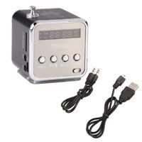 Mini Speaker Micro SD TF Card USB Disk MP3 Music Player Amplifier FM Radio BT