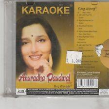 karaoke Sing along - anuradha Paudwal   [Cd]