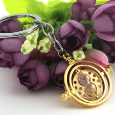 NEW Harry Potter Time Turner Hermione Granger Rotating keychain keyring Gift