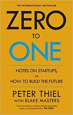 NEW Zero to One by Blake Masters & Peter Thiel (Free Shipping)
