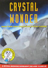 CRYSTAL WONDER DISCOVER SCIENCE KIT GROW SPECTACULAR CRYSTAL CLUSTERS