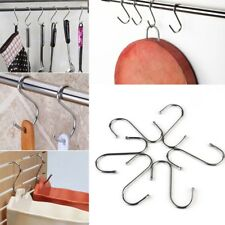 20pcs S Hooks Kitchen Meat Pan Hanging Utensil Stainless Steel Clothes Hanger
