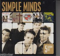 Simple Minds / Sparkle In The Rain, Street Fighting Years u.a. / (5 CDs, NEU!)