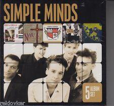 Simple Minds / Sparkle In The Rain, Street Fighting Years u.a. / (5 CDs, NEU!)
