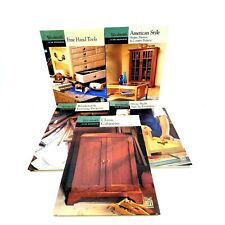 TIME LIFE Volumes of Woodsmith Custom Woodworking HC Spiral Book Lot of 5