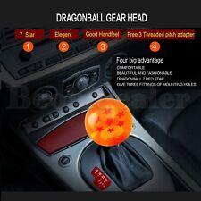 "2.12"" Rare Gear Shift Knob 54mm Ball M12/M10/M8 7Star Dragon For Honda Toyota"