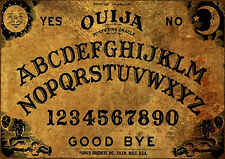 Magic Old Mare Nigrum Ouija Board laminated sheet fortune telling oracle NEW !!!