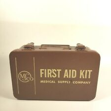 Vintage MS CO First Aid Kit All Original Unopened