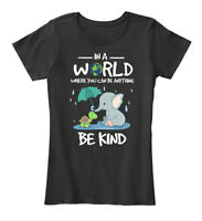 Supersoft In A World Where You Can Be Anything Women's Premium Tee T-Shirt