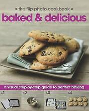 BAKING COOK BOOK - FULL COLOUR, STEP BY STEP, 120 PAGES - NEW