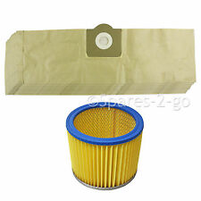 10 Hoover BAGS + FILTER for LIDL PARKSIDE Vacuum PNTS 1250 1300 1400 1500 A1 B1
