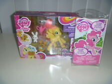 Mlp Friendship is Magic Explore Fluttershy Flower Picking+ Stickers and Scene