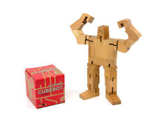 Areaware Original Cubebot Guthrie game challenge wooden wood toy stocking filler