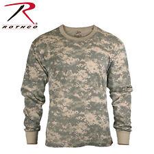 Rothco Military Tactical Hunting Long Sleeve Camo T-Shirts