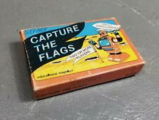Vtg 80s Educational Insights Math Card Game Capture The Flags