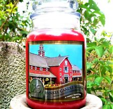 Yankee Candle 2008 Deerfield Village 25 YEARS~Macintosh~Large 22 oz~ RARE~NEW