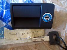 Mercedes Benz W126 glove box handle lock key 280 500 380 420 300 560 SE SEL SEC