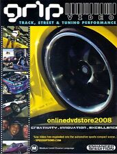 GRIP VIDEO - Import TRACK & STREET RACING Tuning PERFORMANCE DVD (NEW SEALED)
