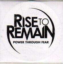 (CC121) Rise to Remain, Power Through Fear - 2011 DJ CD