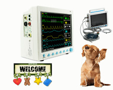 Animale, Veterinay monitor paziente multiparametrico macchina ICU grande schermo