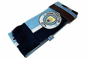 manchester city Scarf Soccer Authentic Official Licensed