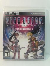 Star Ocean: The Last Hope International (Sony PS3, 2010) - Complete in Box / CIB