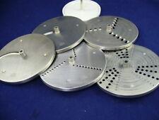 5 Messer Scheiben für Schnitzelwerk ☀️ KS 32 Braun Küchenmaschine KM 32 ☀️