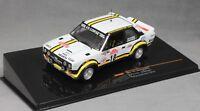 IXO Fiat 131 Abarth Sanremo Rally 1978 Pasetti & Barban RAC205 1/43 NEW