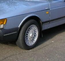 Saab 900 aero spg T16S Cabriolet Wheelarch Trim-Brand New tout coin