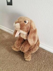 "Animal Alley Plush 14"" Bunny Rabbit Golden Tan Lop Eared Toys R Us 2007"