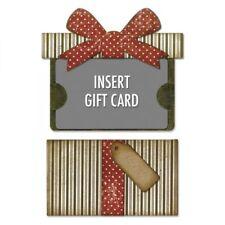 Sizzix Gift Card Package Tim Holtz Thinlits Die Set 662417