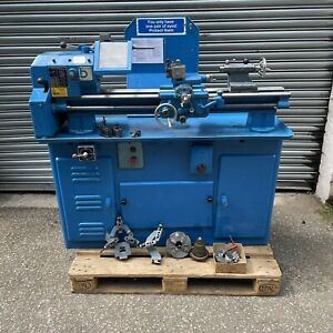 """Boxford BUD Lathe 4 1/2""""  Long Bed Metric, 3 Phase & Accessories"""