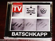 PSYCHIC TV: Batschkapp CD 2012 Reedición 4worlds Media EE.UU. fwus002cd NUEVO